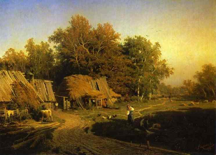 красивые картинки деревня на рабочий стол